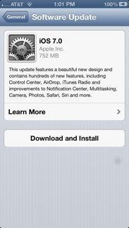 iOS 7 Install