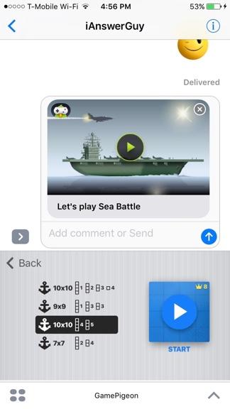 Send Game Invitation