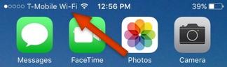 i-Fi Calling Symbol