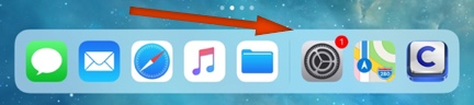 Recent Apps Shown in Dock