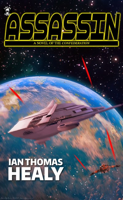 ian thomas healy, ebook, print book, audiobook, science fiction, star wars, space opera