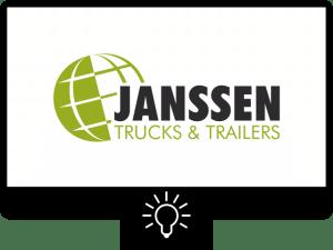 Janssen trucks & trailers logo