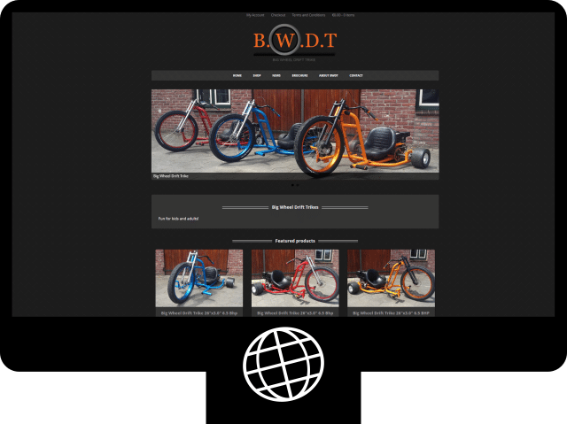 Big Wheel Drift Trike – webshop
