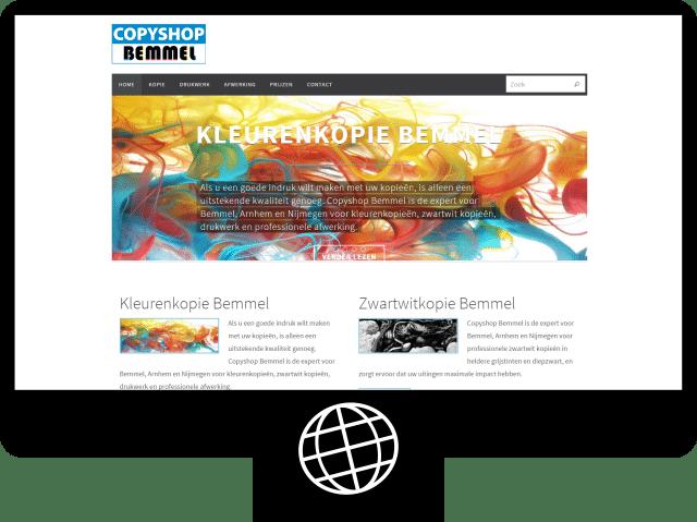Copyshop Bemmel - website