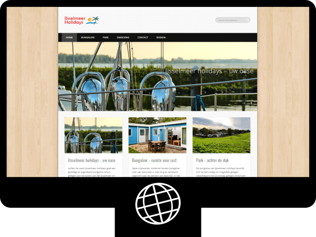 IJsselmeer Holidays – website