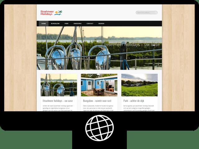 IJsselmeer holidays - website