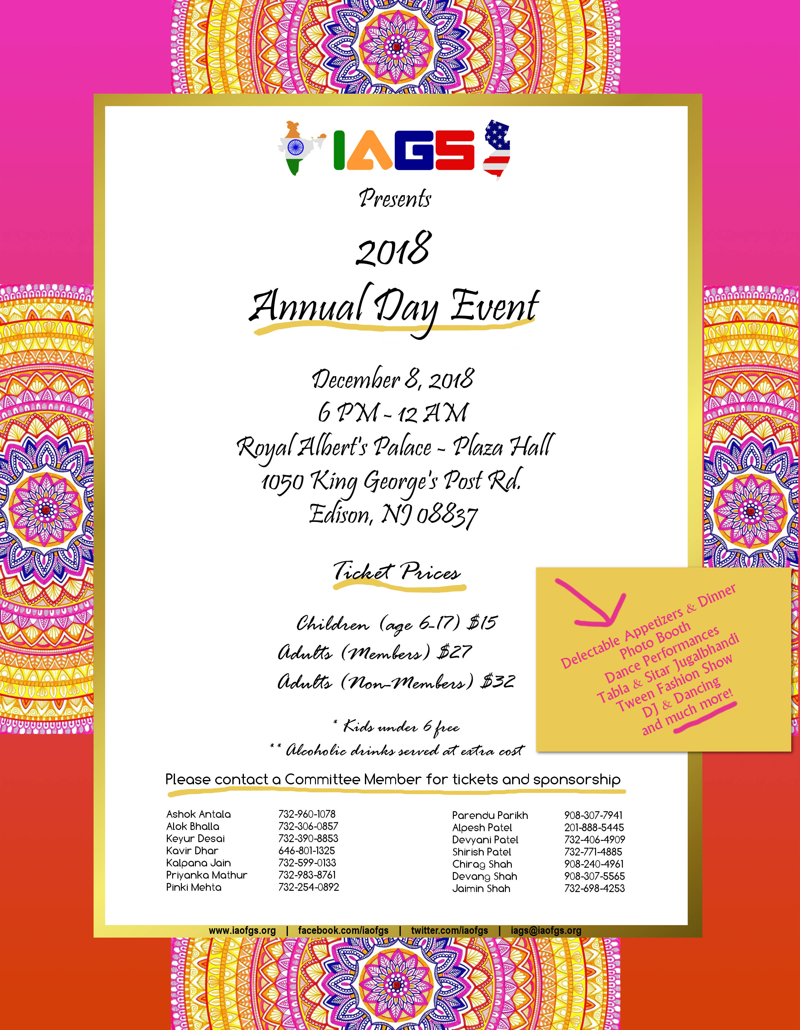 IAGS 42nd Annual Day Event