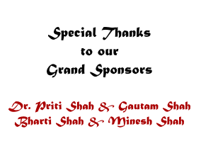 2019 Annual Day Event Grand Sponsors