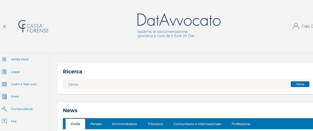 Come Accedere Alla Banca Dati Giuridica Gratuita Di Cassa Forense Iapicca Com