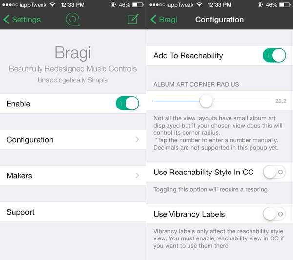 Bragi-Cydia-Pangu-iOS8.4.1-jailbreak-iapptweak