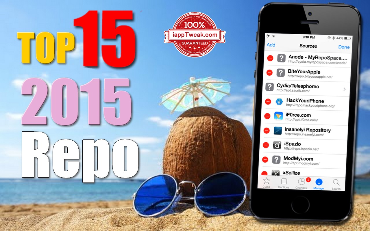 TOP 15 iOS 8 3 - 8 4 / 8 / 7 Cydia Repos / Sources│Best Of 2015