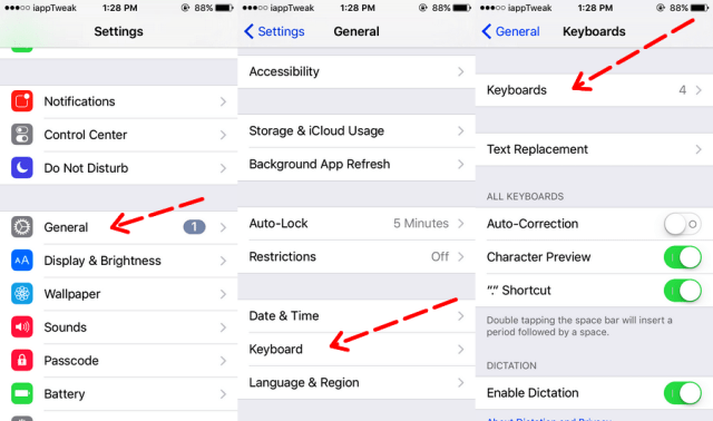 Enable Hidden Emoticon keyboard on iOS-iapptweak-1