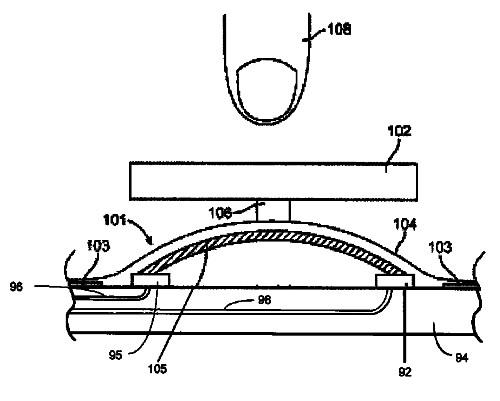 Apple-Liquidmetal-home-button-patent