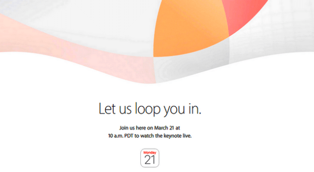 Apple March 21 event -Let us loop you in-iapptweak