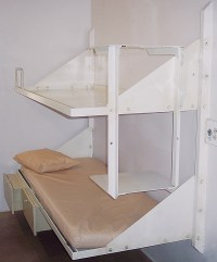 Wall Mount Bunk Bed - Iowa Prison Industries