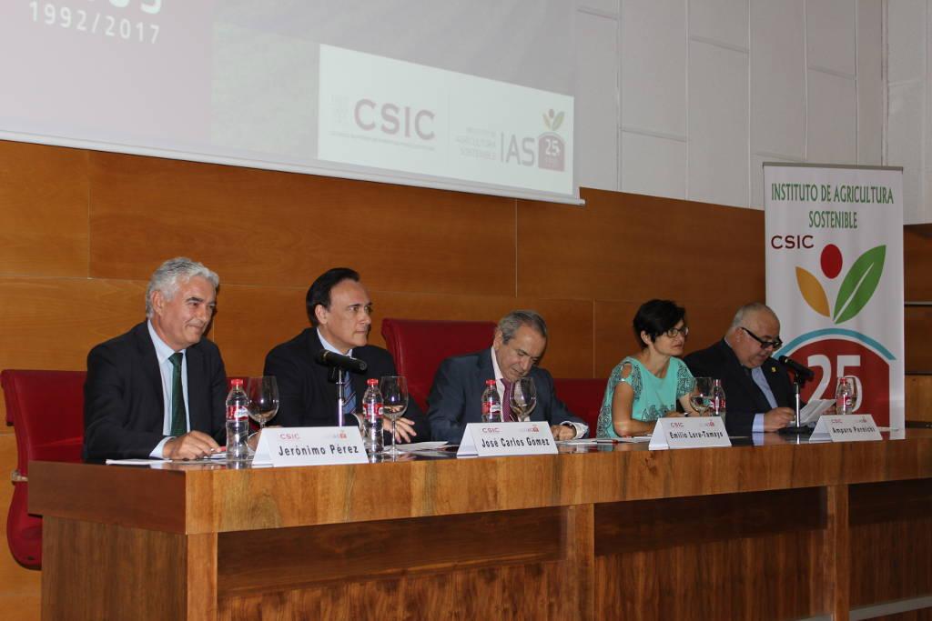25 aniversario del Instituto de Agricultura Sostenible