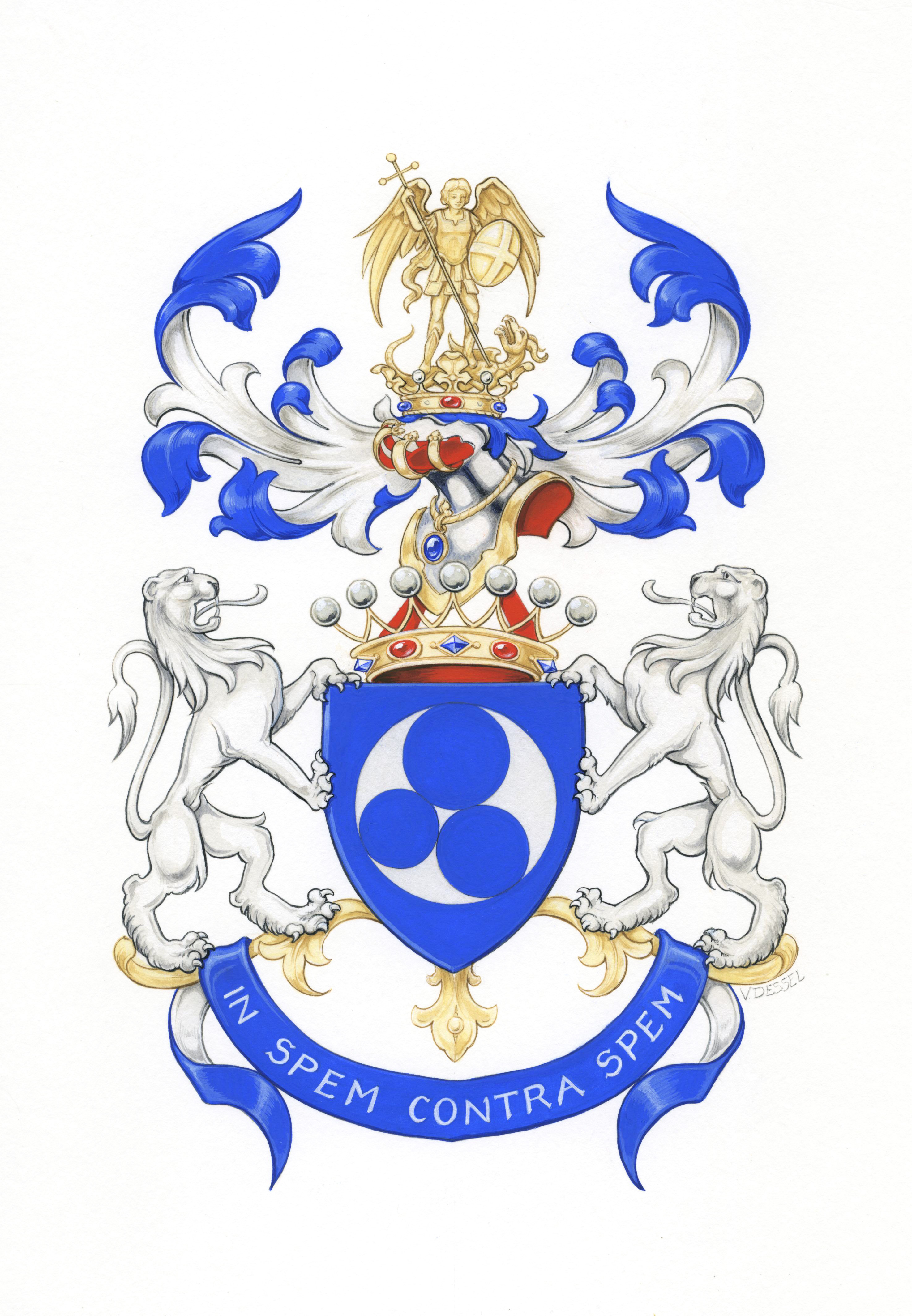 Jean Bourgain S Coat Of Arms