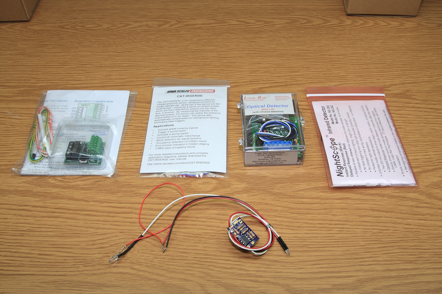 hight resolution of our selection of test sensors