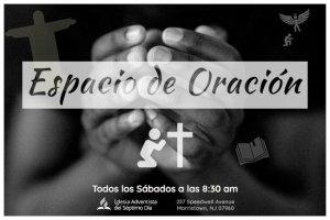 Espacio de Oración @ Iglesia Adventista del Séptimo Día de Morristown | Morristown | New Jersey | United States