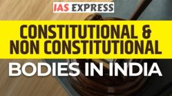 [Table] Comparison between various Posts/Bodies (constitutional & non-constitutional) - Revise Faster