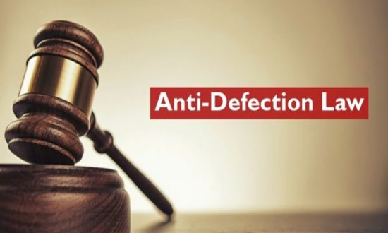 The Anti-Defection Law / Tenth Schedule of Constitution – Explained