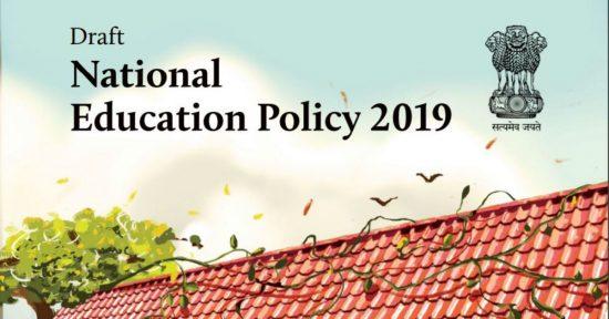 Draft National Education Policy 2019 three language formula kasturirangan committee upsc ias essay