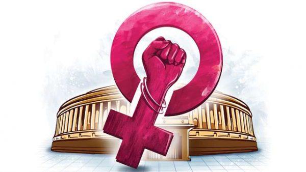 women's reservation bill debate pros cons upsc ias essay mindmap notes
