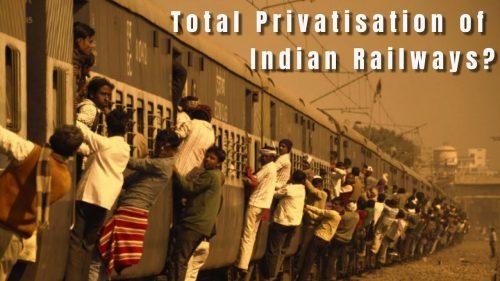 privitisation of railways upsc ias essay notes mindmap