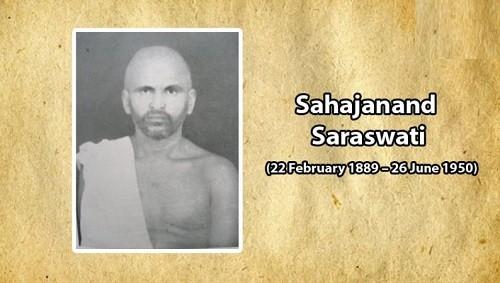 Sahajanand Saraswati – Important Personalities of Modern India