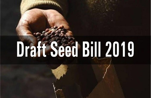 Draft Seed Bill 2019 – Features, Advantages, Disadvantages