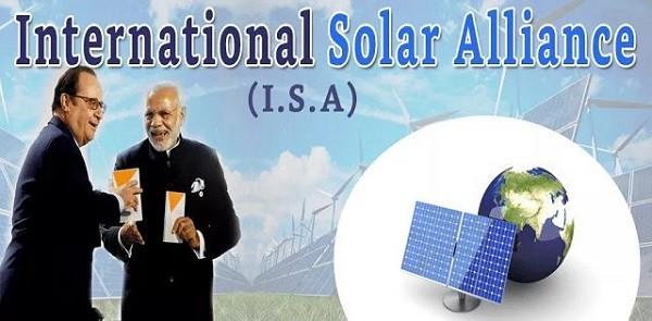 international solar alliance upsc essay notes mindmap
