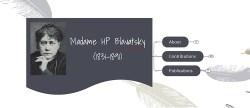 Madame HP Blavatsky - Important Personalities of Modern India
