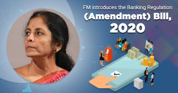 Banking Regulation (Amendment) Bill, 2020 – Need, Features, Limitations