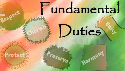 [Polity] Fundamental Duties