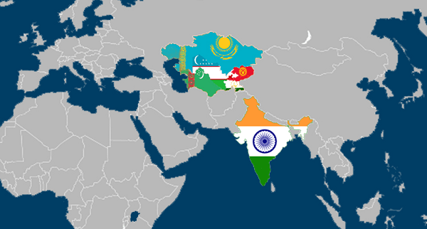 India-Central Asia relations upsc essay notes mindmap