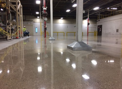 Polished Concrete - Industrial Applications, Inc