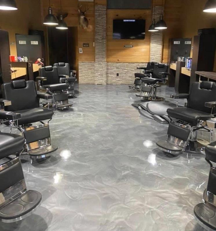 metallic floor coating, epoxy floor coatings, Industrial Applications Inc
