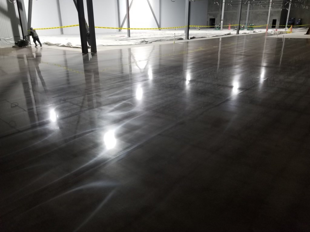 Polished concrete, polished concrete floors, concrete stain, retail concrete polish, floor joints, concrete floor restoration, TeamIA, Industrial Applications Inc., commercial flooring Ardmore OK, Ardmore OK