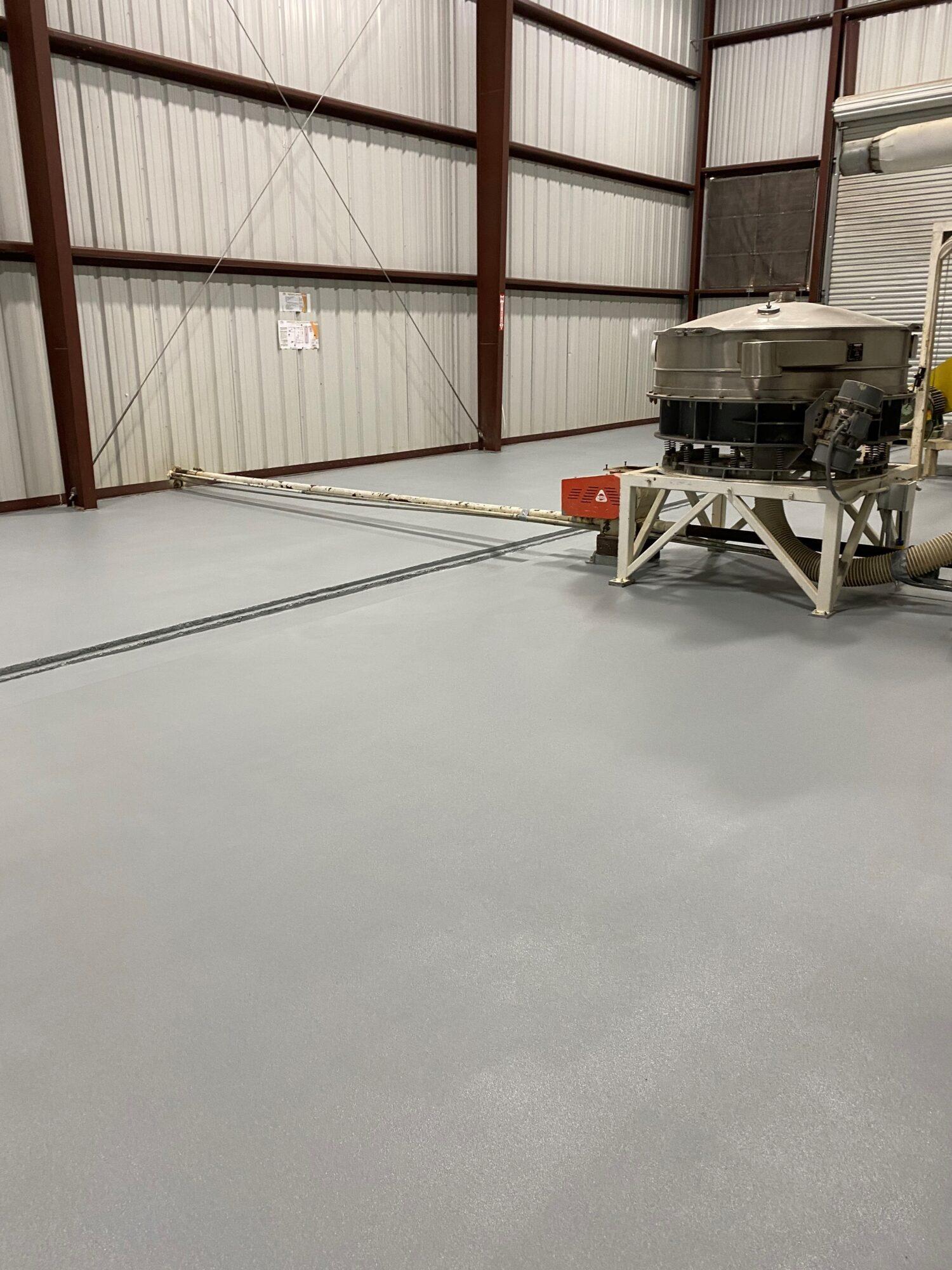 Concrete floor resurfacing, flooring contractors Wynne AR, urethane mortar, manufacturing flooring, industrial flooring, TeamIA, Industrial Applications Inc.