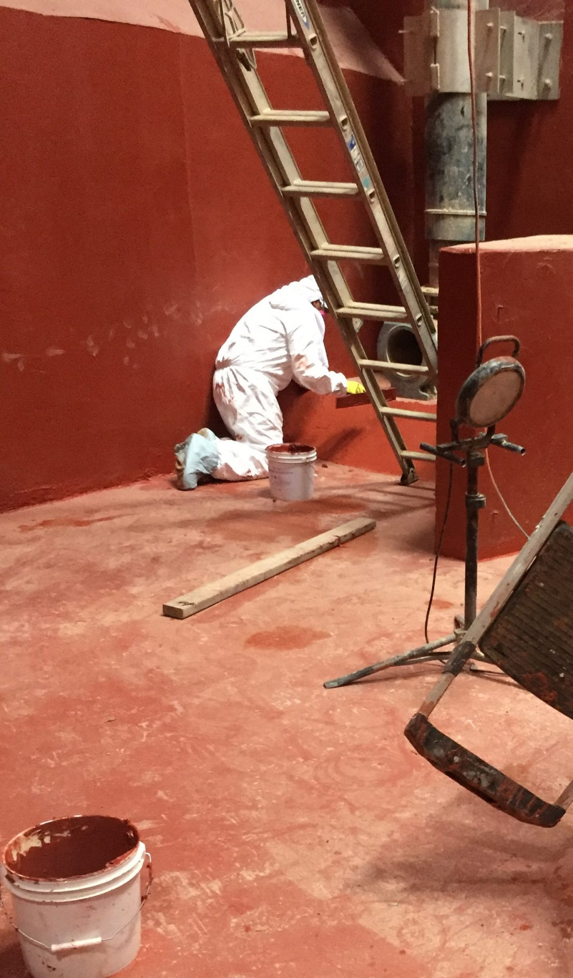 hand trowel mortar, containment coatings, epoxy floor coatings