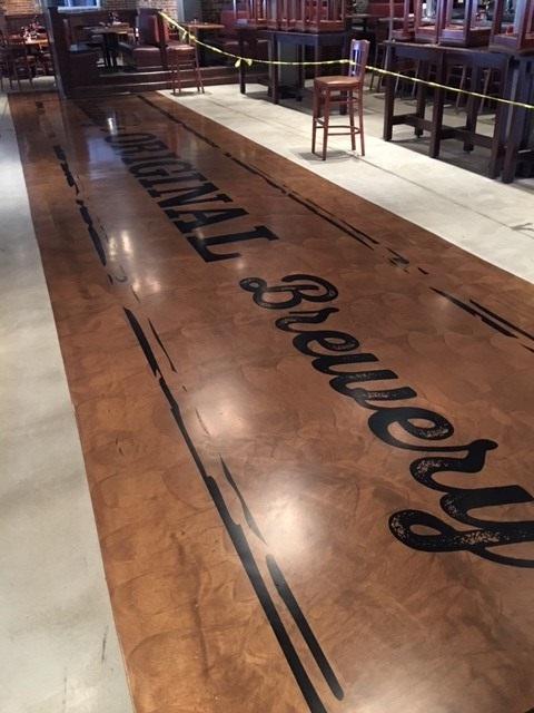 epoxy floor coatings, food and beverage floor coatings, bar floor coatings,