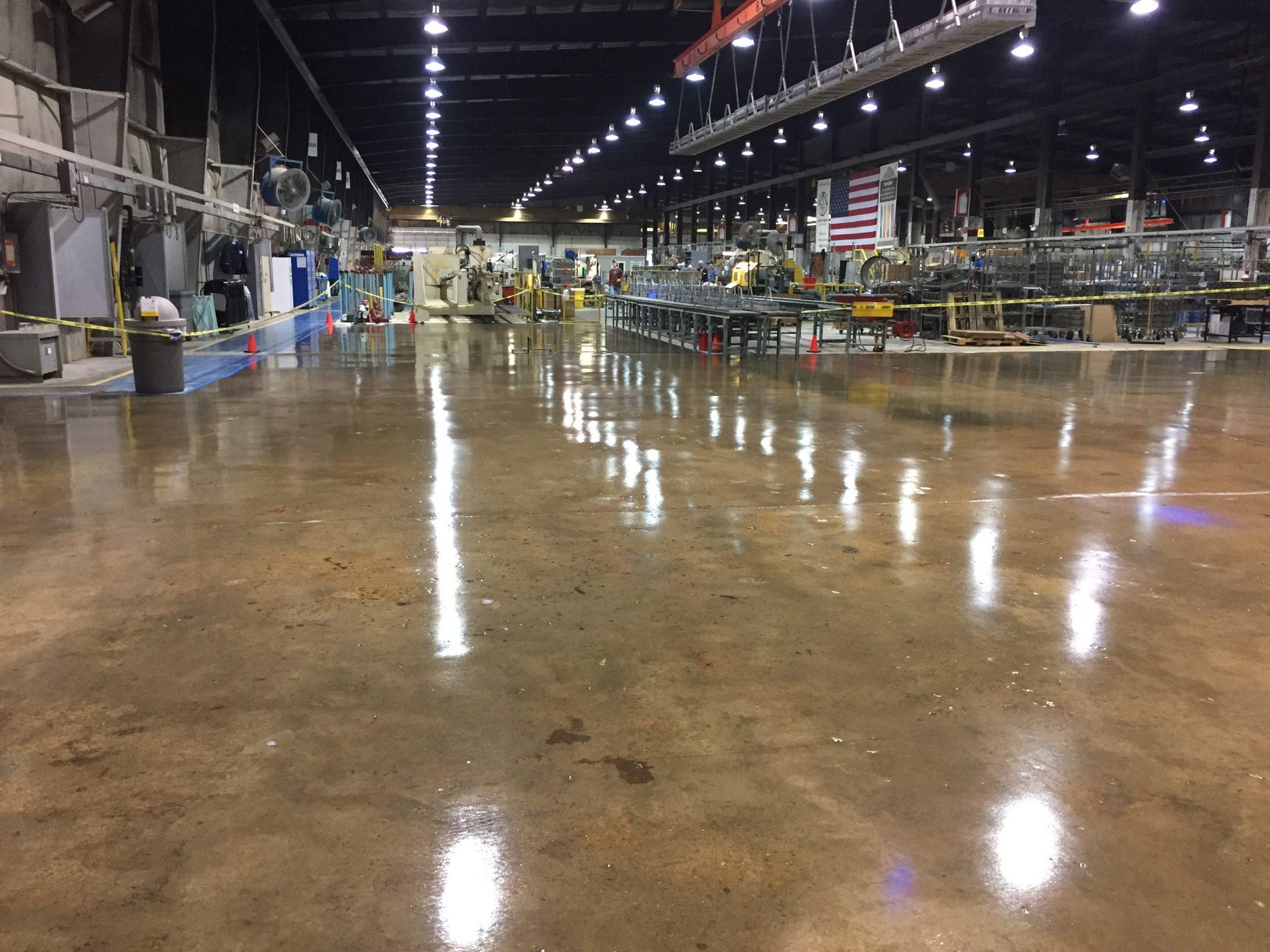 epoxy floor coatings, manufacturing floor coatings, clear epoxy
