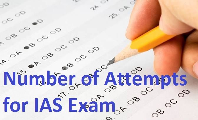 Number of Attempt for an IAS Exam