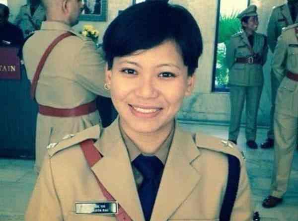 Aparajita Rai, The first Gorakh Female IPS Officer of Sikkim