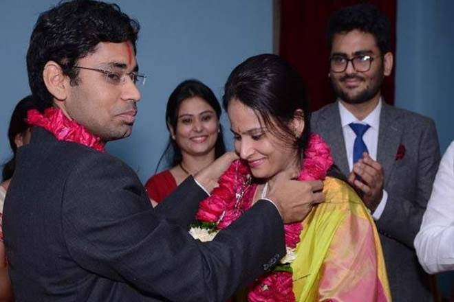 Ashish Vashishta and Saloni Sidana had cleared the IAS in 2013. They came closer during their training at the Lal Bahadur Shastri National Academy of Administration, Mussoorie. (Source: Facebook)