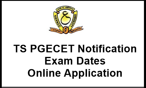 TS PGECET 2018 Online Application Form, Apply Online Here Now