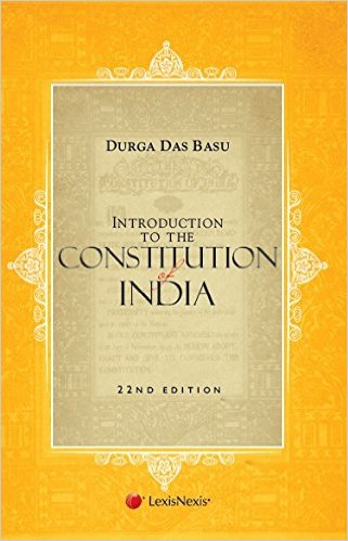 Books for Indian Polity - DD Basu