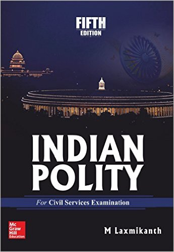 Books for Indian Polity - M. Laxmikanth