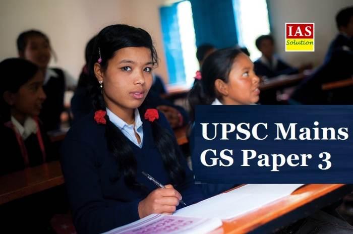 UPSC Mains General Studies Paper 3