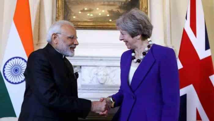 Modi and Theresa May